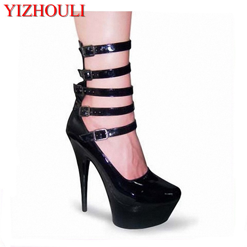 The bride single shoes catwalk shows the performance of 15 cm high with Roman style thick bottom appeal show shoesThe bride single shoes catwalk shows the performance of 15 cm high with Roman style thick bottom appeal show shoes
