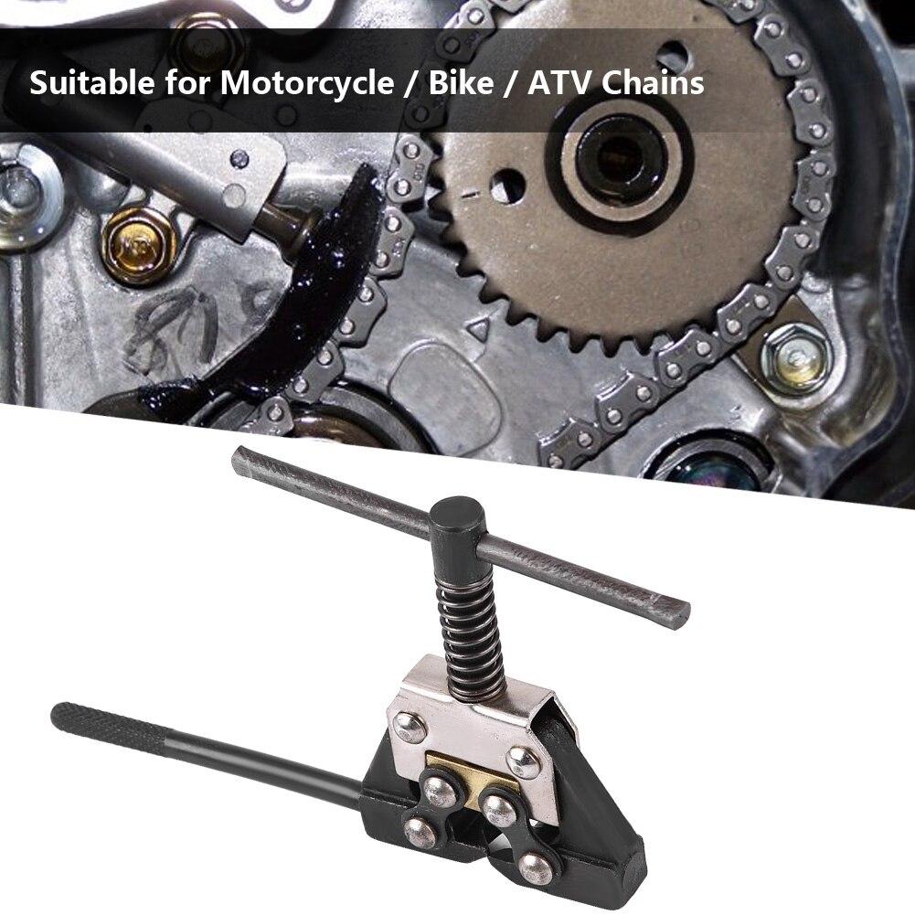 Motorcycle Bike Chain Breaker Cutter Link Splitter Remove Chain Repair Tool Kit