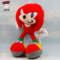 "SEGA Plush Toys 7"" 18cm Red Sonic The Hedgehog Kawaii Soft Stuffed Plush Doll Small Pendent with Sucker Kids Toys For Children"