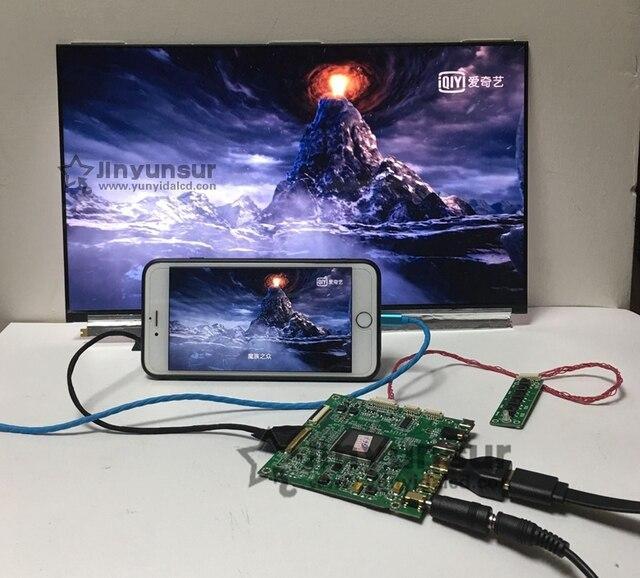 US $189 0 |15 6inch 4K IPS LCD Screen 3840X2160 NV156QUM N32 N51 HDMI DP  LCD Contoller Board mobile phone WIFI same work NV125QUM N81 QHD-in Laptop
