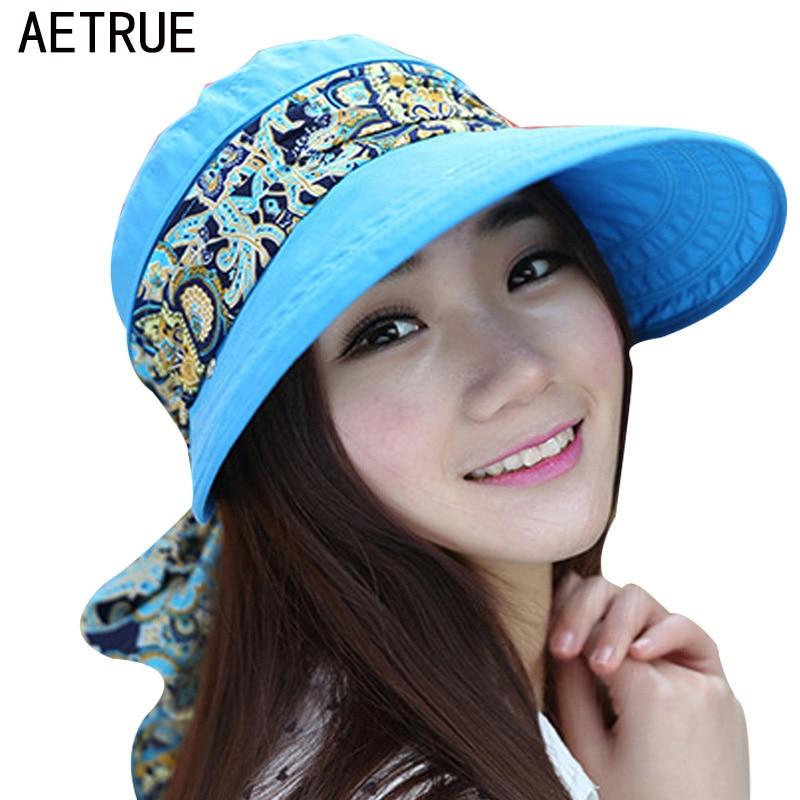 2018 Summer Hats For Women Chapeu Feminino Beach Sun Hats For women Ladies New Fashion P ...