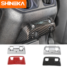 SHINEKA Interior Mouldings for jeep wrangler jl accessories Rear window switch decoration 2018