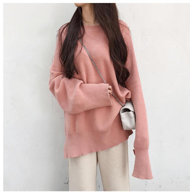 Для беременных женщин осень зима свитер комплект, поддержка живота с длинным рукавом свитер широкие брюки 8630