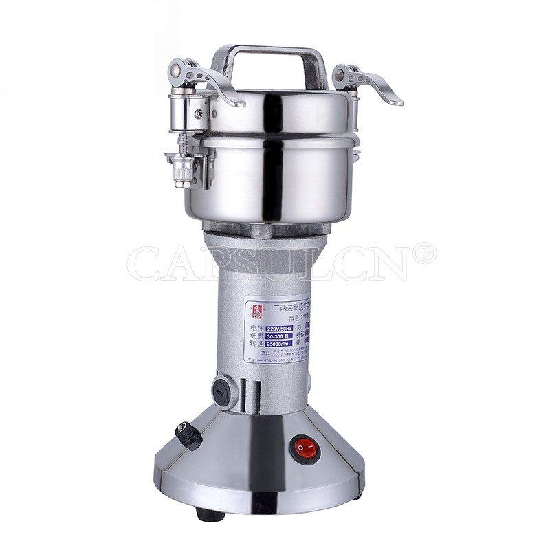 YF-111 Mini Type Herbs Grinder\Herb muller\Coffee Beans Grider\Powder Pulverizer Machine Grinder (220V 50HZ) 454g gold medal socona coffee beans coffee powder green slimming coffee beans tea