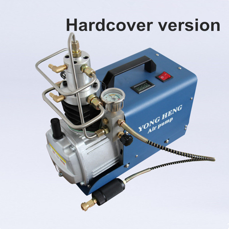 110V 220V 300BAR 30MPA 4500PSI High Pressure Air Pump water cooling Electric Air Compressor for Airgun Scuba Rifle PCP Inflator yongheng 300bar 30mpa 4500psi high pressure air pump electric air compressor for pneumatic airgun scuba rifle pcp inflator
