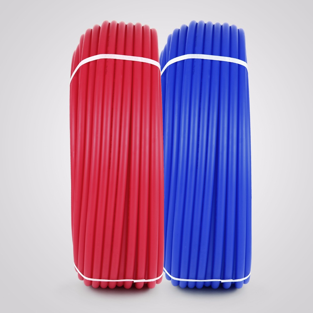 "2 rolls 1//2/"" x 300ft PEX Tubing for Potable Water Combo"