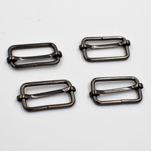 купить (10 pieces/lot)32mm Black Nickel wire. Circle. Square circle. Ms. bag accessories. Metal adjustment buckle. Luggage strap buckle по цене 332.63 рублей