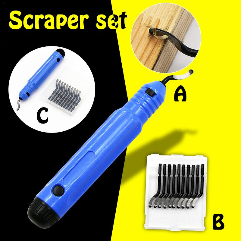 High Quality Trimming Tool Scraper NB1100 Deburring Slitter Edge Removing Professional Trimming Tool new high quality new 1pc nb1100 burr handle deburring handle tool cutting tool with 10 blades bs1010 bs1012 bs1018 bk3010