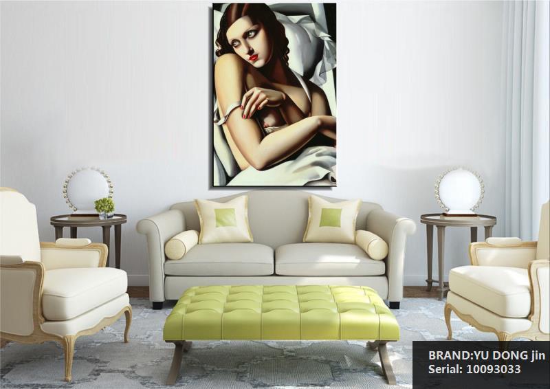 Тамара де Лемпіка Портрет Класична - Домашній декор - фото 4