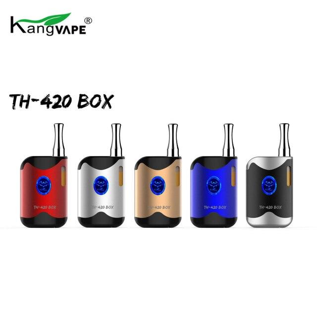 Original Kangvape TH-420 CBD Box Kit E Cigarettes 650mAh Built-in Battery 0.5ml Vape Cartridge Atomizer Thick Liquid Vaporizer