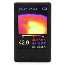Multifunctional Mini Portable Handheld Digital Infrared Thermal Imager Thermograph Camera Temperature Sensor