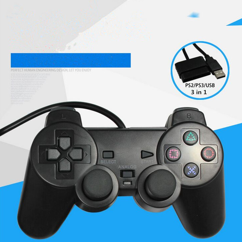 usb wired game controller for sony PS3 controller ...