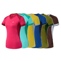 Mens Womens Unisex Plain Sports Short Sleeve T-shirt Fast Drying Tops Wholesale