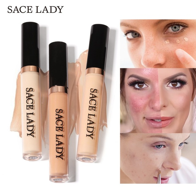 Sace Lady Full Cover Liquid Concealer Makeup For Face Eye Dark