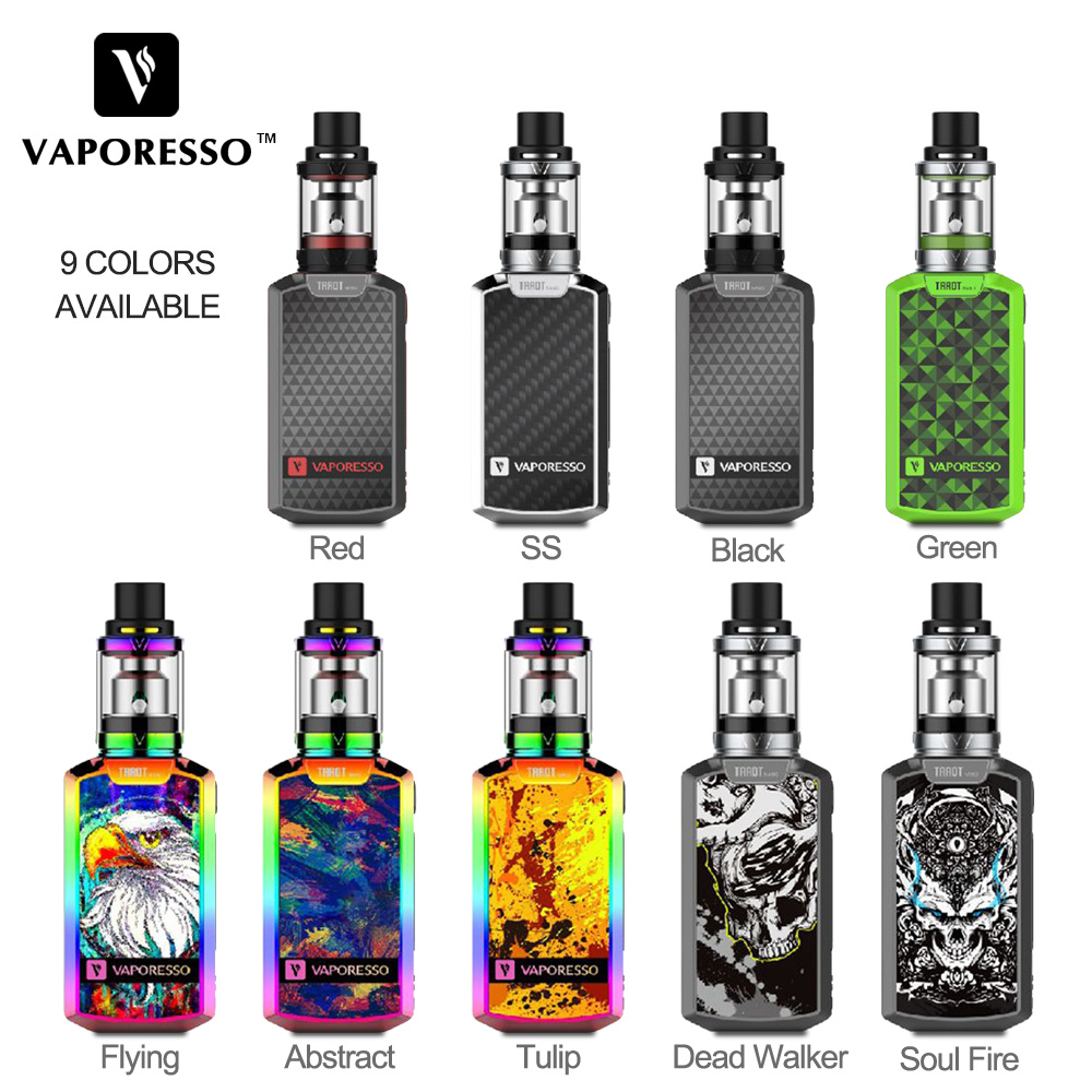 Original 80W Vaporesso Tarot Nano TC Kit Tarot Nano Box Mod with 2ml VECO EUC Tank