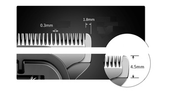 2 in 1 Professional Hair Clipper, Haircut Kit Beard Trimmer,  Hair Cutting Machine 2