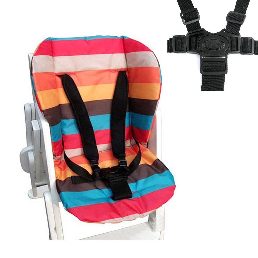 Brand New Universal 5 Point Harness Baby Safety Seat Belts For Stroller High Chair Kids Safe Protection Seat Stroller Belt