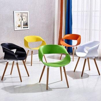 Sillas de comedor muebles de comedor sillas comedor chaise salle un pesebre  moderne moda café silla Silla de comedor moderna venta