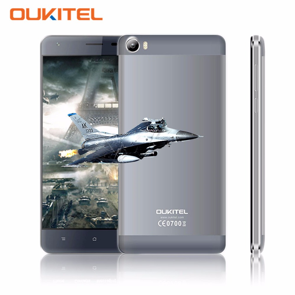 Original OUKITEL K6000 5 5 Inch Quad Core Smartphone Android 5 1 2GB RAM 16GB ROM