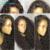 8A Del Frente Del Cordón Del Pelo Humano Pelucas Llenas Del Cordón Pelucas de Cabello Humano para Las Mujeres Negras Malasio Rizado Rizado 130% Peluca Rizada de Encaje Frontal pelucas