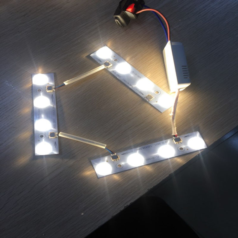 Modern led ceiling light driver and light source 110-240V