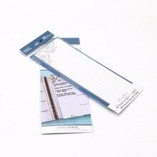 Купить онлайн Просто может делать заметки съемный узоры красиво многоразовые закладки для письма канцелярских товаров офисные аксессуары пластиковые