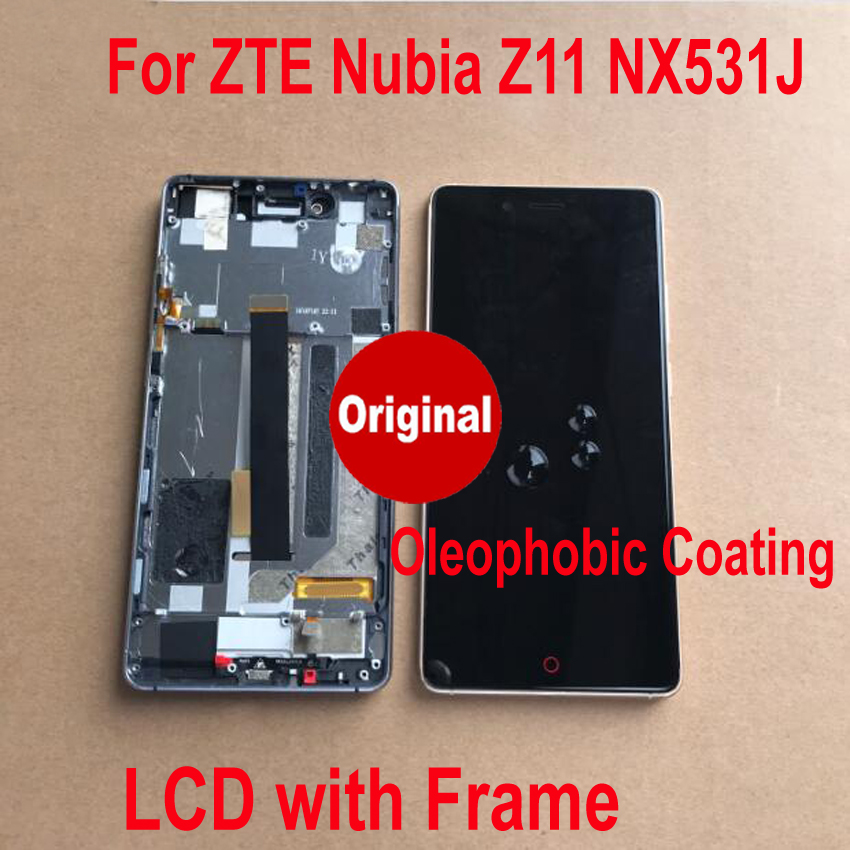 Original Best Tested Well Frame + LCD Display Panel Touch