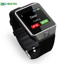 HESTIA Bluetooth Smart Watches DZ09 Smartwatch For Android Phone Clock Support More APP Facebook Whatsapp SD SIM With Camera(China)