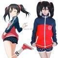 LoveLive! Love Live Yazawa Nico Hoodie Sportswear Coat Jacket Suit Uniform Cosplay Costumes