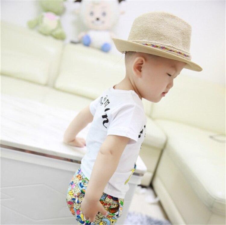 2015 yeni yay Koreya 100% Pambıq Moda Style uşaq geyimləri körpə - Uşaq geyimləri - Fotoqrafiya 4