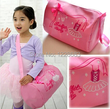 New S Ballet Dance Bag Kids Child Pink Waterproof Garment Duffle Bags Female Cute Crossbody Backpack In From Novelty Special Use On