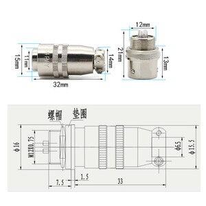 Image 3 - EziUsin Aviation Interface Plug Socket Connector XS12K4P  2 3 4 5 6 7 XS12