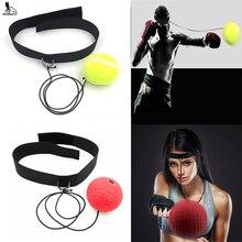 Здесь можно купить   RUNACC Reflex Boxing Ball Portable Punch Ball Practical Fight Ball Lightweight Reflex Reaction Speed Balls Punching Boxing  Fitness & Body Building