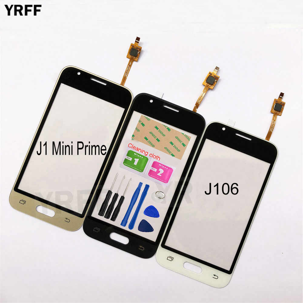 4.0 ''J106 עבור Samsung Galaxy גרנד J1 מיני ראש J106 מגע מסך Digitizer חיישן מגע זכוכית עדשת פנל