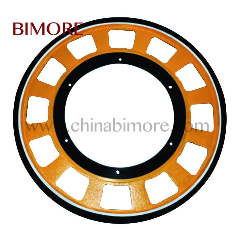 Escalator Friction Wheel OD650mm Thickness 30mm use for Schindler Kone SJEC Seloon escalator handrail friction wheel od587mm id433mm thickness 30mm