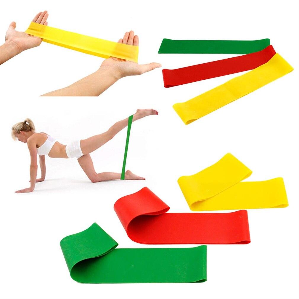Новый натуральный латекс натяжения сопротивление тренировки группы Пилатес Фитнес физические упражнения rehab Йога core петли тренажерный зал Yoga Фитнес полосы Качество