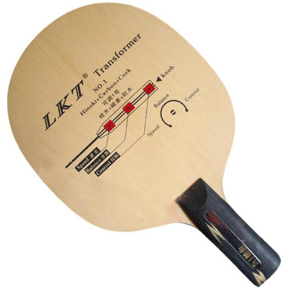 LKT Transformer NO.1 Hinoki+Carbon+Cork penhold short handle CS Table Tennis PingPong Blade lkt 2828 carbon off table tennis blade penhold short handle cs for pingpong racket