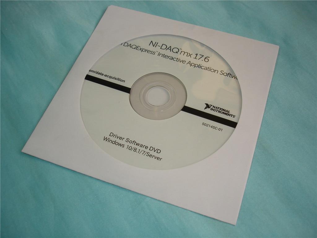 para a Marca Original Novo Produto Cd-daqmx 17.6 Suporta 64-bit Sistema Operacional ni