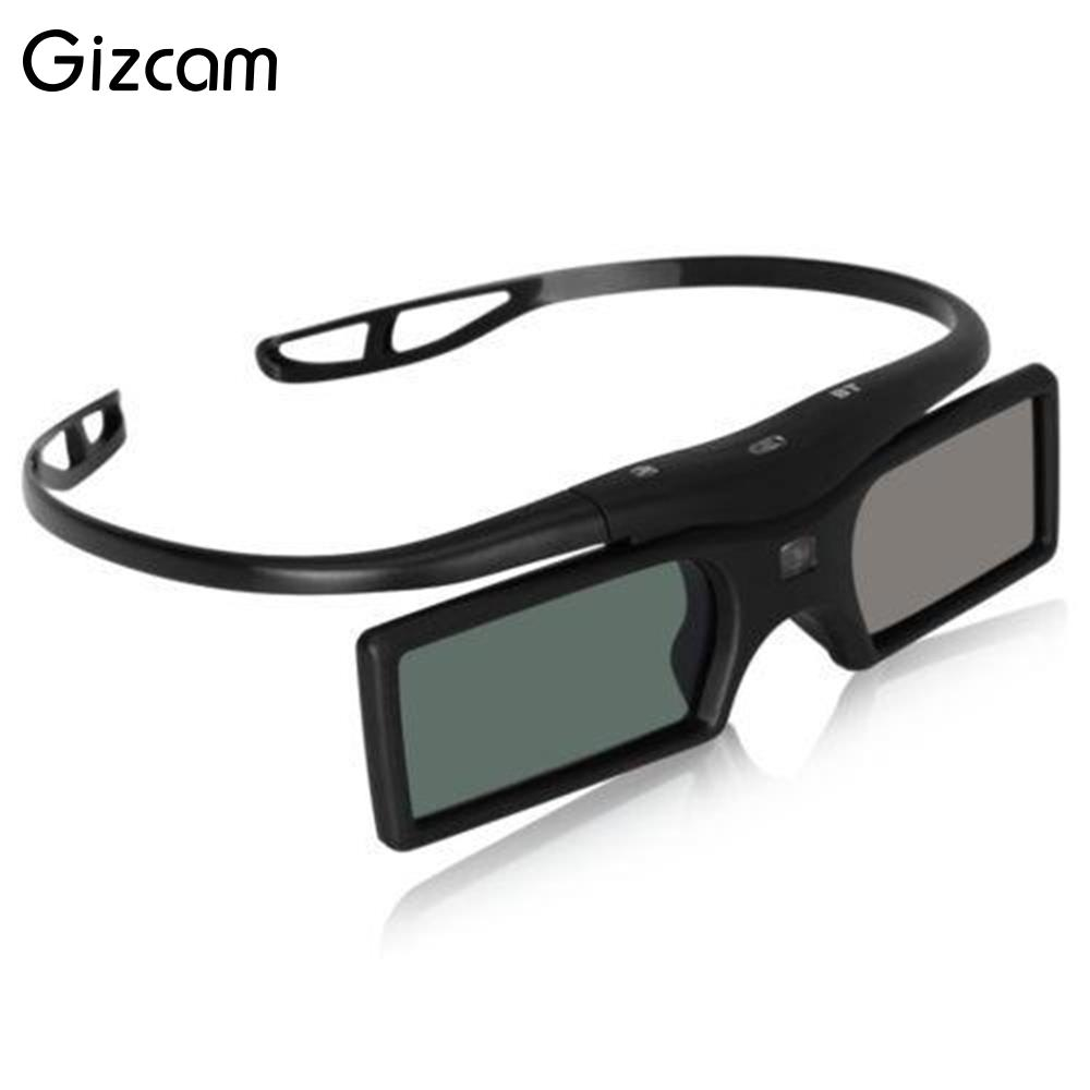 Gizcam Bluetooth 3D Active TV 3D Glasses For Panasonic 3DTVs Universal TV Projector TV Good Quality Television Accessories