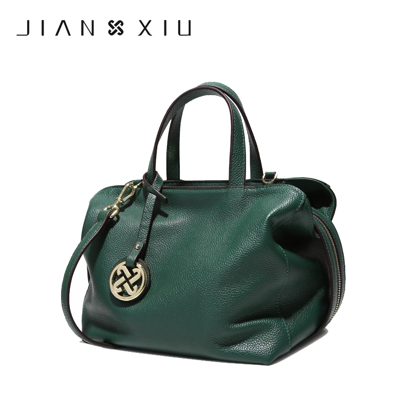JIANXIU Crossbody Bags for Women Genuine Leather Luxury Handbags Women Bags Designer Shoulder Messenger Tote Bag Handbag X19