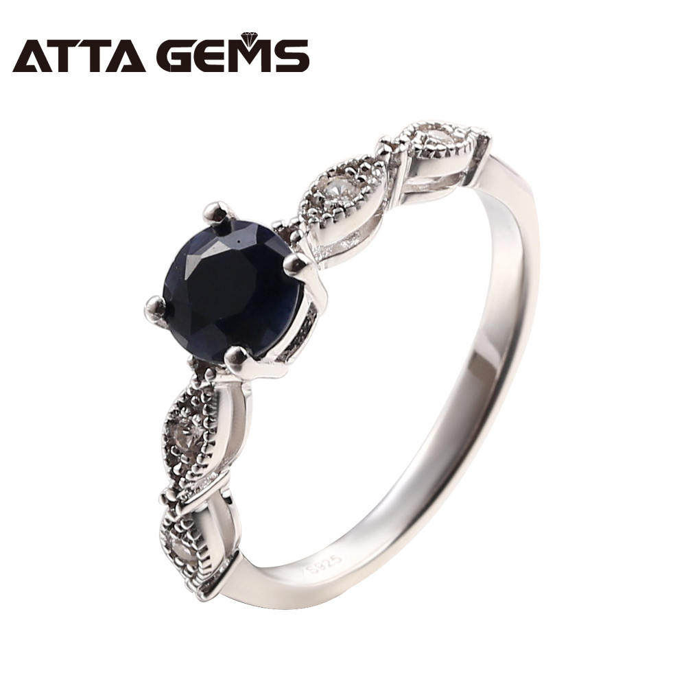 730be245f CHAMSS Pan 925 Sterling Silver Charm Vibrant Spirit Ring Black Crystal  Jewelry Women Free Shipping Engagement Ring