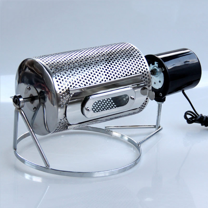 Home Kitchen Coffee Beans Roaster Electric Coffee Beans Roasting Machine 110V/220V Grains Beans Baking Machine(China)