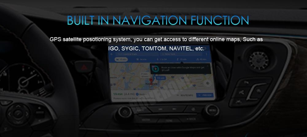 Cheap RoverOne Car Multimedia Player For Fiat Fiorino Qubo For Citroen Nemo For Peugeot Bipper Android 9.0 Octa Core Radio Navigation 22