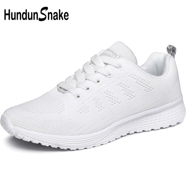 af68e1e54a91 Hundunsnake Breathable Women s Sneakers Woman Sport Shoes Female Summer  Running Shoes Women s White Basket Femme 2018 Code T568