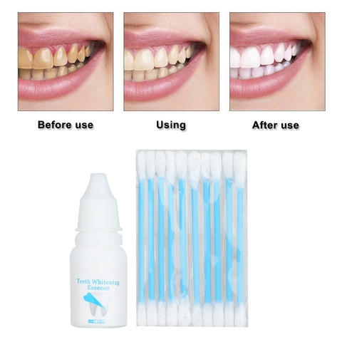 New Hot Sale 10ml Teeth Whitening  Powder Oral Hygiene Cleaning Plaque Stains Removal Lahore