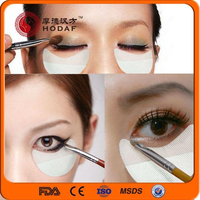 maquillaje de ojos de belleza sombra de ojos shield pad pegatina desechable extensiones de pestaas