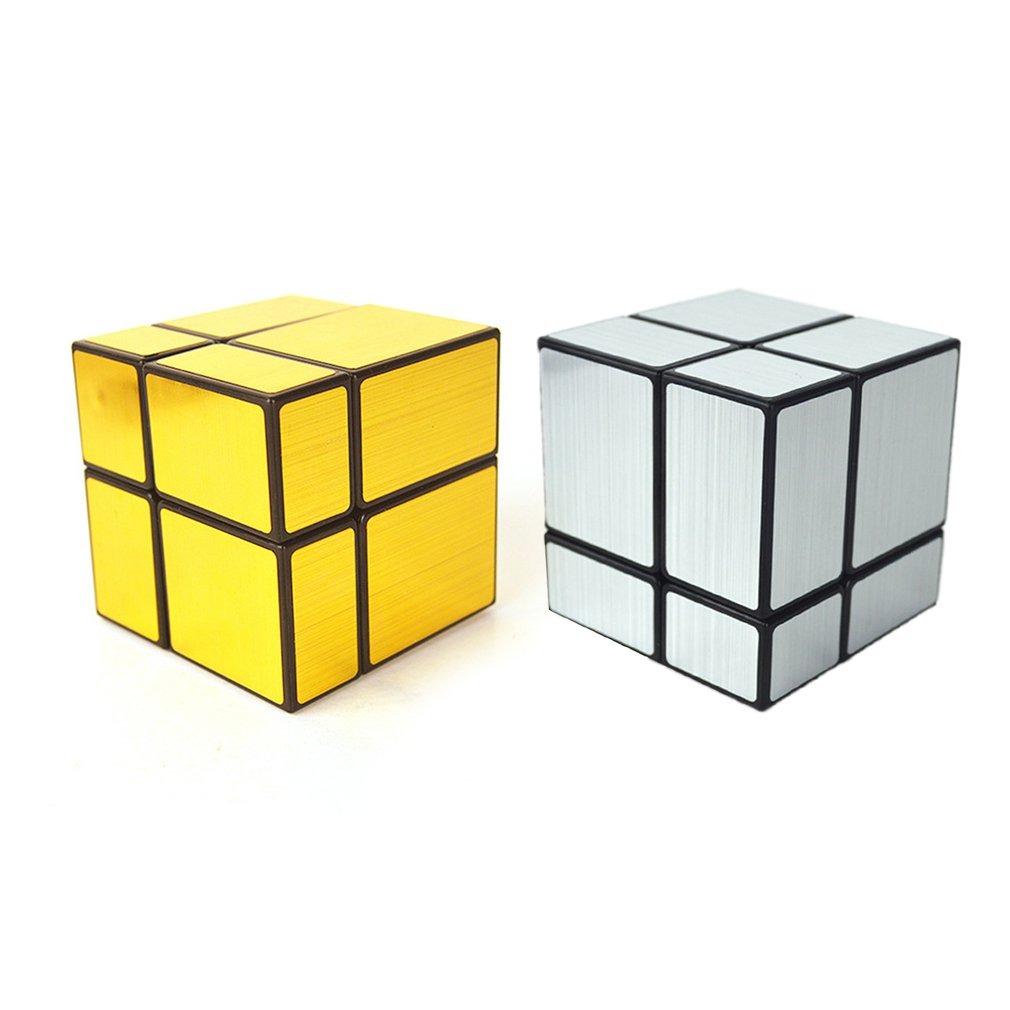 High Quality 2x2x2 Mirror Magic Cube Entry Level Special Shaped Magic Cube Speed Challenge Gifts Intelligent Early Education Toy