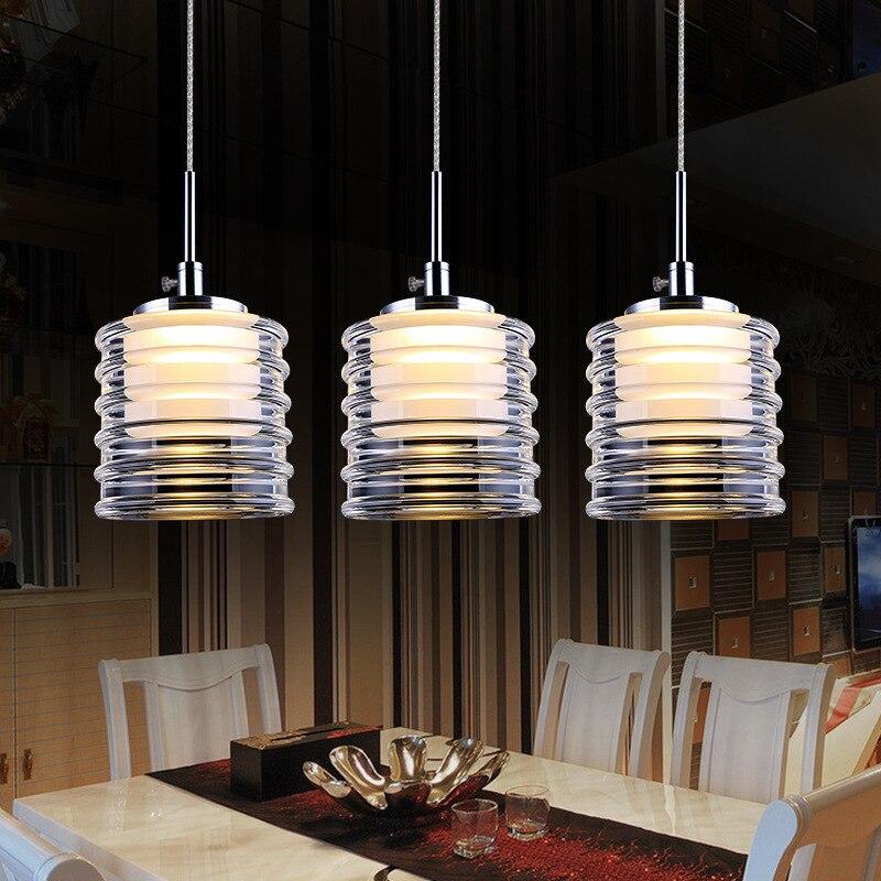 Chandelier restaurante bar lustre lustre moderno for Lamparas colgantes minimalistas