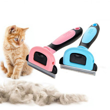 3 Size Pet Dog Cat Removal Hair Comb Brush Clipper Cat Grooming Accessories Hair Deshedding Remover Brush For Dog Cat Kitten pet hair deshedding dog cat brush comb sticky hair gloves hair fur cleaning for sofa bed clothe pets dogs cats cleaning tools