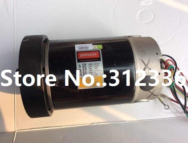 Expédition rapide JM12-007 moteur à courant continu pour tapis roulant Johnson T6000
